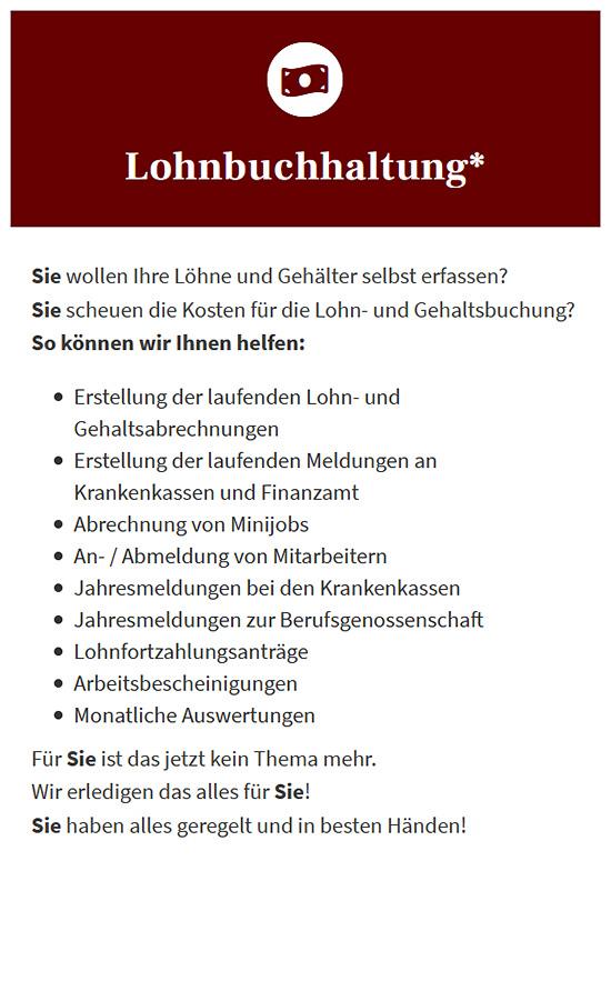 Buchhaltungsservice aus 64807 Dieburg