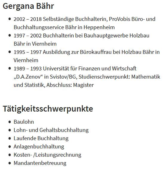 Steuer für  Hanau